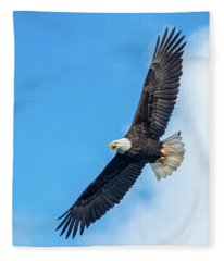 Screaming Eagle #2 Fleece Blanket