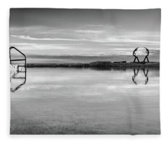 Fleece Blanket featuring the photograph Sea Nymphs by Chris Cousins