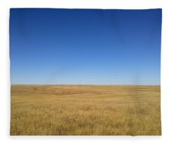 Sea Of Grass Fleece Blanket