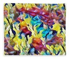 Sea Salad Fleece Blanket