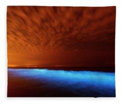 Bioluminescent Fleece Blankets