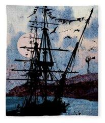 Seafarer Fleece Blanket