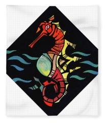 Seahorse Jewel 121218 Fleece Blanket