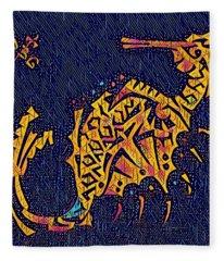 Seahorse Jewel 311018 Disco Fleece Blanket