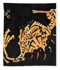 Seahorse Jewel 311018  Gothic Fleece Blanket