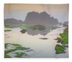 Seal Rock Fleece Blanket