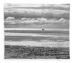 Seaside Stroll Fleece Blanket