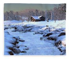Season Of Repose Fleece Blanket