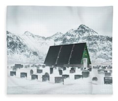 Season Of Silent Sorrow Fleece Blanket