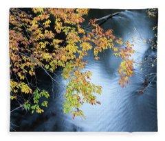 Seasons Of Change Fleece Blanket