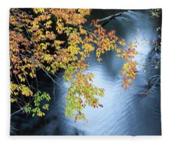 Seasons Of Change Fleece Blanket