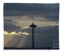 Seattle Light Fleece Blanket