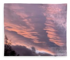 Seattle Sky Fleece Blanket