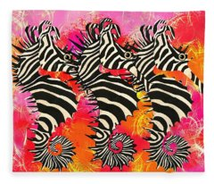 Seazebra Digital11 Fleece Blanket