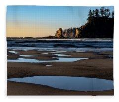 Second Beach Fleece Blanket