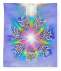 Second Coming Fleece Blanket