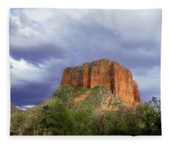 Devil's Mountain Fleece Blanket