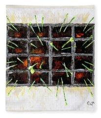 Seedlings Fleece Blanket