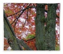 Seeing Autumn Fleece Blanket
