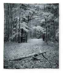 Selenium Trail  Fleece Blanket