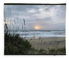 Sept. 14, 2018 Sunrise  Fleece Blanket