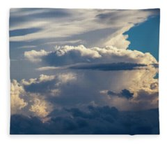 September Storm Chasing 015 Fleece Blanket