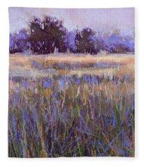 Serenity In Blue Fleece Blanket