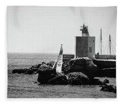Setting Sail Fleece Blanket