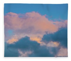 Shades Of Clouds Fleece Blanket