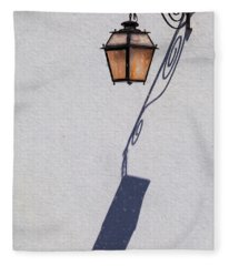 Shadow Lamp Fleece Blanket