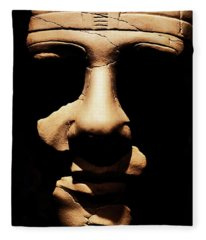 Shadows Of Ancient Egypt Fleece Blanket