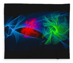 Shapes And Colours #i1 Fleece Blanket