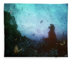 Shattered Memories Fleece Blanket