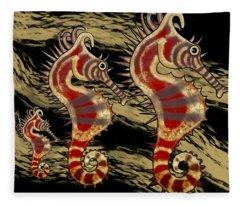 Shehorse Digital Addition5 Fleece Blanket