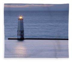 Shining Light Fleece Blanket