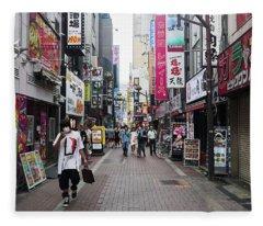 Shinjuku Fleece Blanket