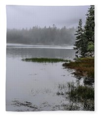 Ship Harbor Nature Trail, Acadia National Park Fleece Blanket