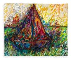 Ship In Color Fleece Blanket