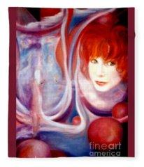 Shirley Incarnate Fleece Blanket