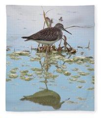 Shorebird Reflection Fleece Blanket