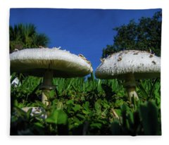 Shrooms Fleece Blanket