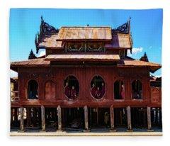 Shwe Yan Pyay Monastery Fleece Blanket