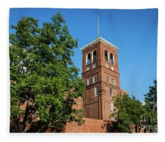 Sibley Mill Augusta Ga Fleece Blanket