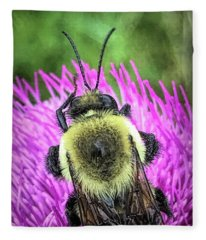 Fleece Blanket featuring the photograph Signs Taken For Wonders by Jeff Iverson