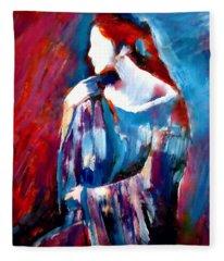 Hidden Thoughts Fleece Blanket
