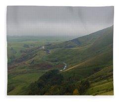 Shivering Mountain,  Fleece Blanket