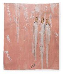 Friendship Angels Fleece Blanket