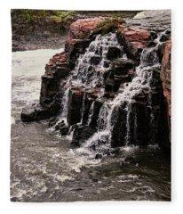 Sioux Falls South Dakota United States Of America Fleece Blanket