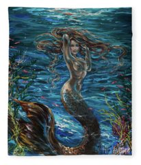 Siren Attitude Fleece Blanket