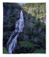 Sivlefossen, Norway Fleece Blanket